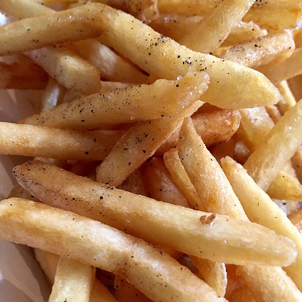 Salt & Pepper Fries @ Harry's Bar & Burger