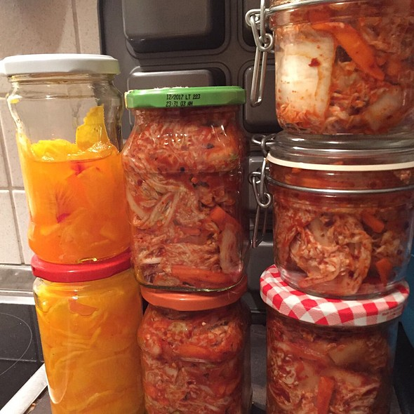 Homemade Kimchi @ Home Sweet Home Sir Aqua