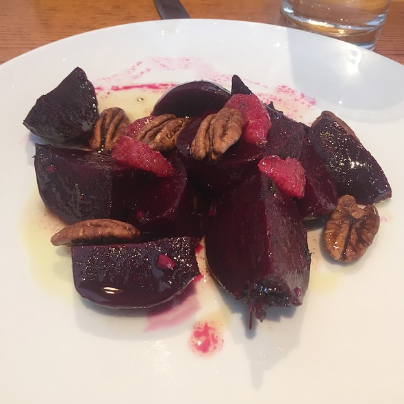 Mcdowell County Beets, Blood Orange, Pecans, And Agrodolce
