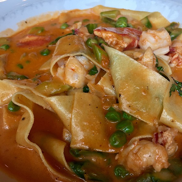 Lobster Pappardelle @ Fred's At Barneys