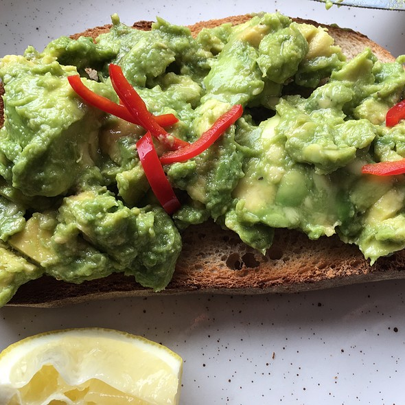 Avocado With Chilli On Toast