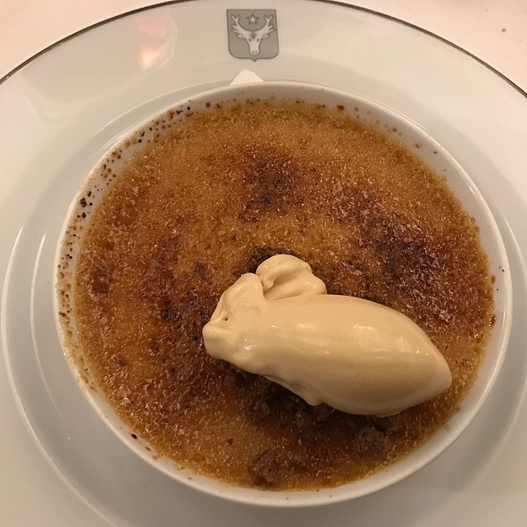 Ginger crème brûlée