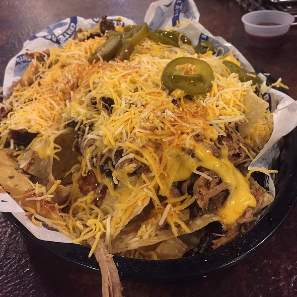 Barbecue Nachos @ Central BBQ Downtown