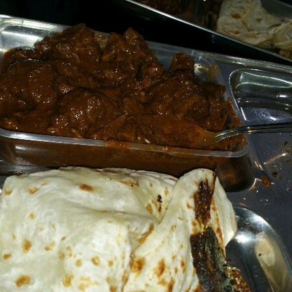 Paratha And Goat Curry