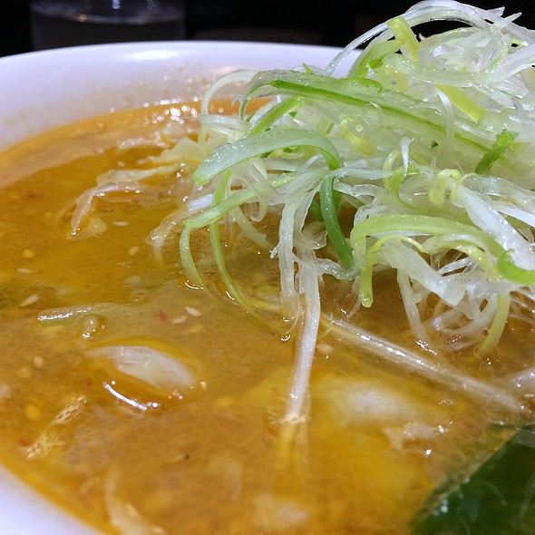 味噌ラーメン(Miso Ramen) @ けやきラーメン すすきの本店