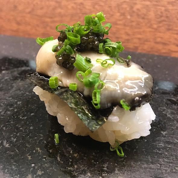 Kumomoto Oyster W/ Caviar Nigiri @ Royal Sushi & Izakaya