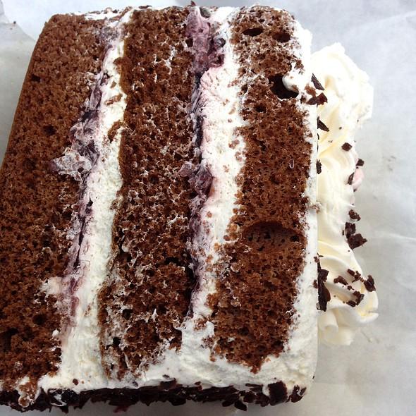 Chocolate Cake with Mock Cream