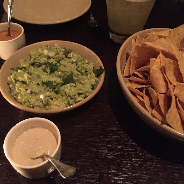 Guacamole And Chips With 2 Salsas