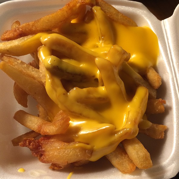 Cheese Fries @ Olneyville New York System