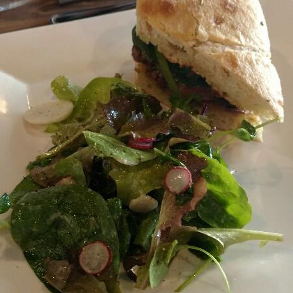 Steak Sandwich And Salad @ Cocha