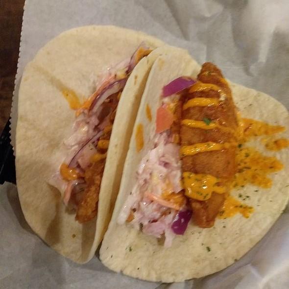 Fried Haddock Tacos