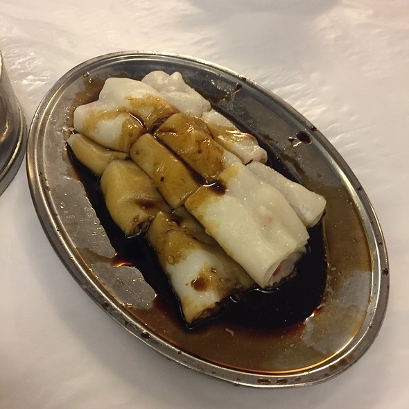 Steamed Cheong Fun With Char Siew