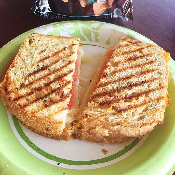 Grilled Cheese Sandwich @ happy tummy