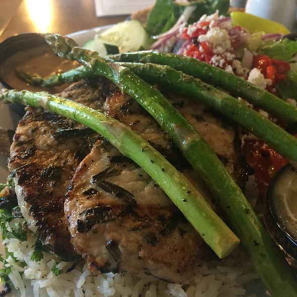 Herb Roasted Pork Loin @ Taziki's Mediterranean Cafe
