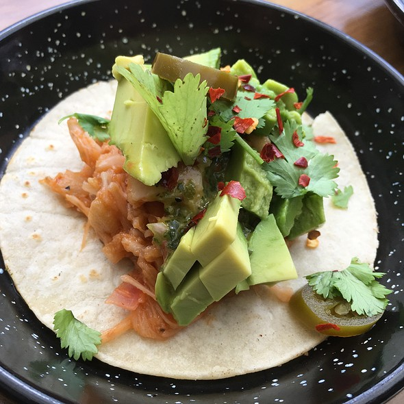Mexican Jack Fruit Taco