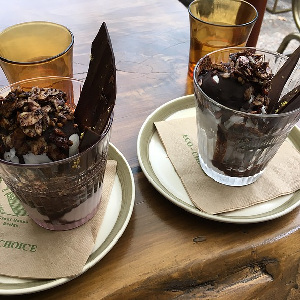Chocolate Coconut Sundae