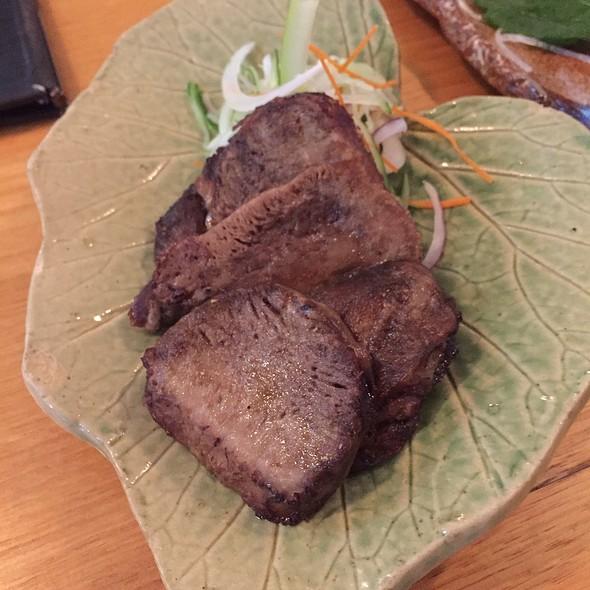 Grilled Thick Sliced Beef Tongue With Sansho Powder @ Kisuke