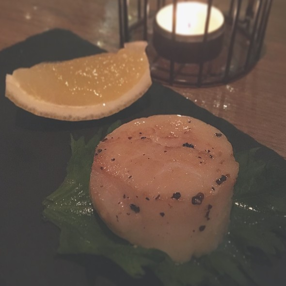 Charcoal Grilled Scallop