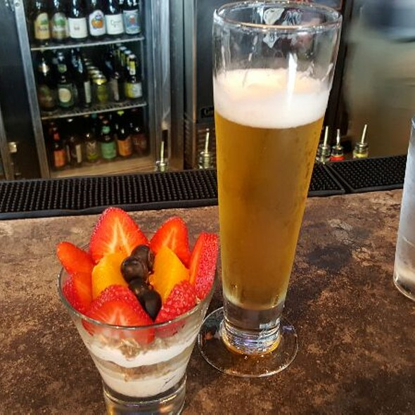 Breakfast Of Champions Pilsner Beer & Granola Fruit Parfait