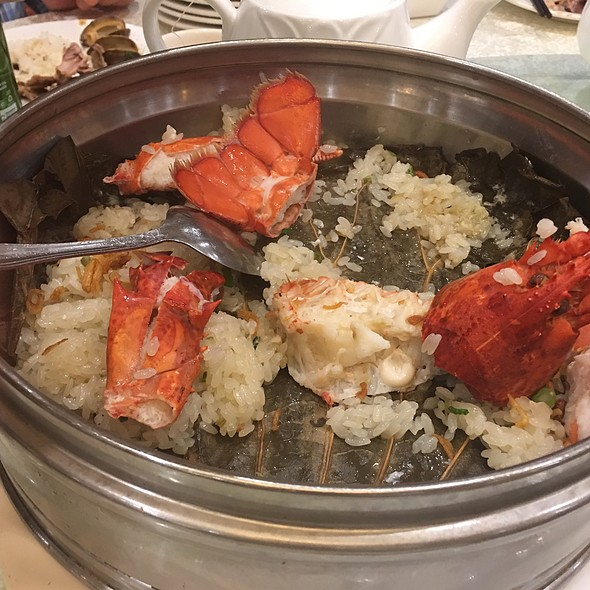 Lobster With Sticky Rice