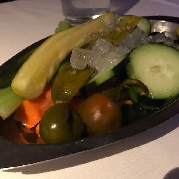 Veggies and pickles