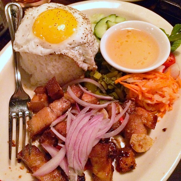 Spicy Pork Belly @ Ba Bar