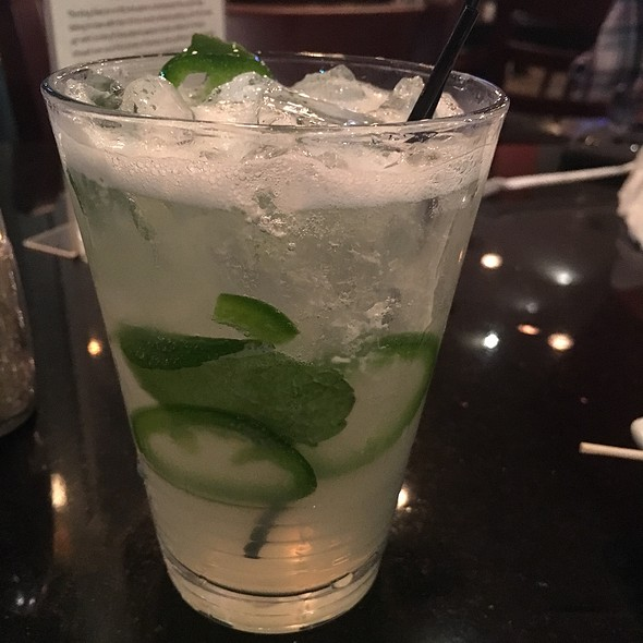 Cucumber Quencher With Jalapeño @ Wicked Cow Burgers And Brews