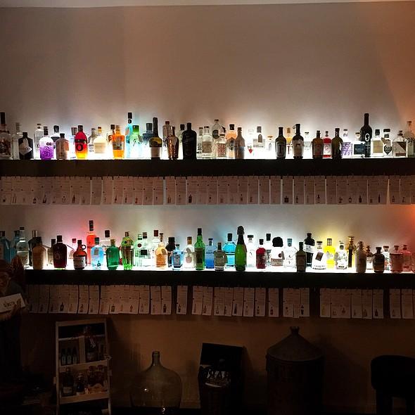 Gin Shelf