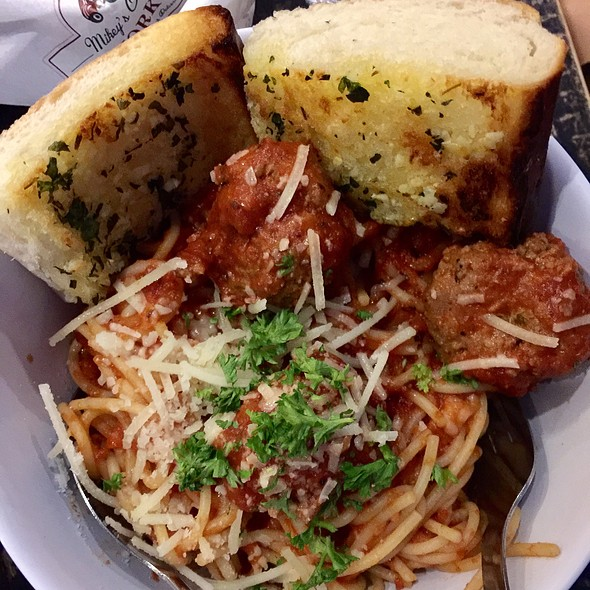 Meat Ball Spaghetti