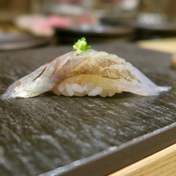 Japanese Black Rock Fish Nigiri