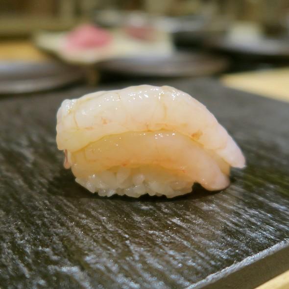 Maine Sweet Shrimp Nigiri