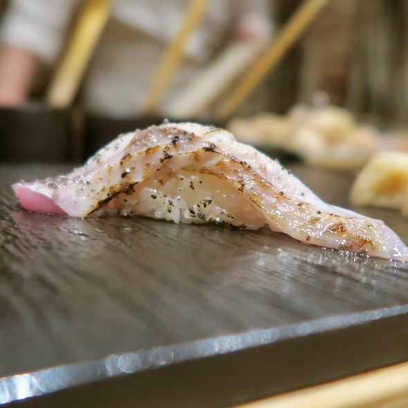 Searched Japanese Sea Perch With Volcanic Salt