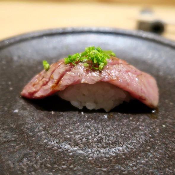 Japanese A5 Wagyu Beef Nigiri