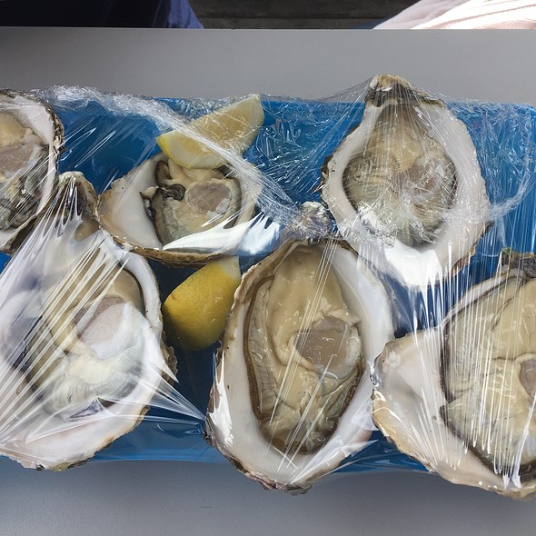Fresh Pacific Oysters @ Sydney Fish Market