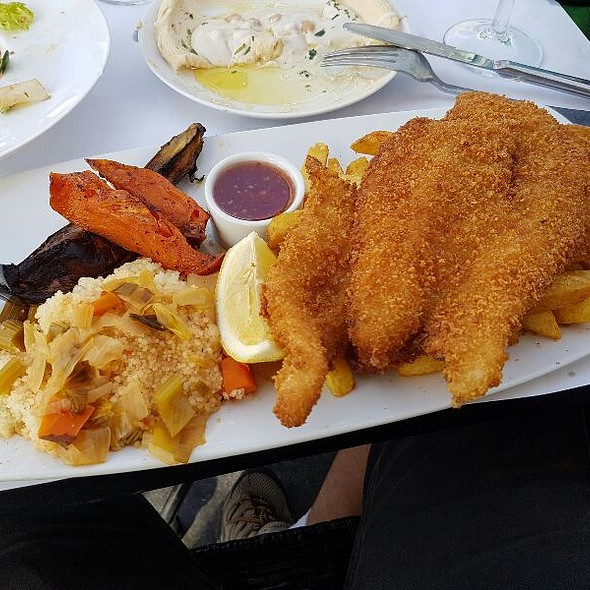 Fish and Chips @ London Cafe