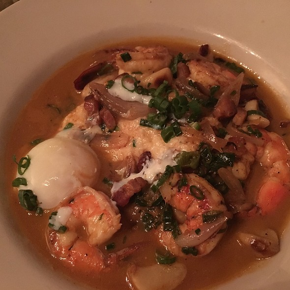 Shrimp and Grits @ Seared Steak and Seafood