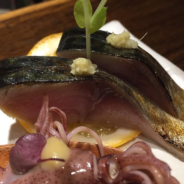 Saba (Mackeral) Sashimi