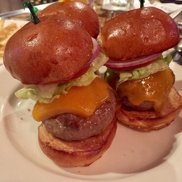 Sliders @ Morton's the Steakhouse