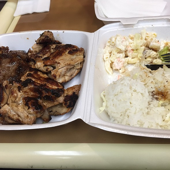 Mixed BBQ Plate @ L&L Hawaiian Barbeque