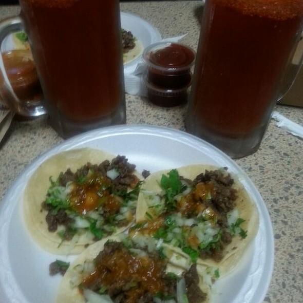Asada Tacos And Micheladas  @ La Victoria Mexican Food