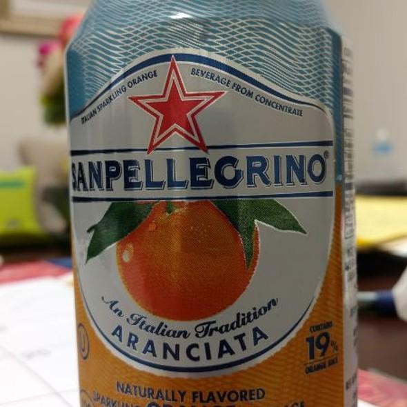 Orange Sanpellegrino