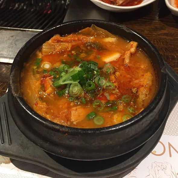 Kimchi Stew With Pork And Tofu @ New Wonjo