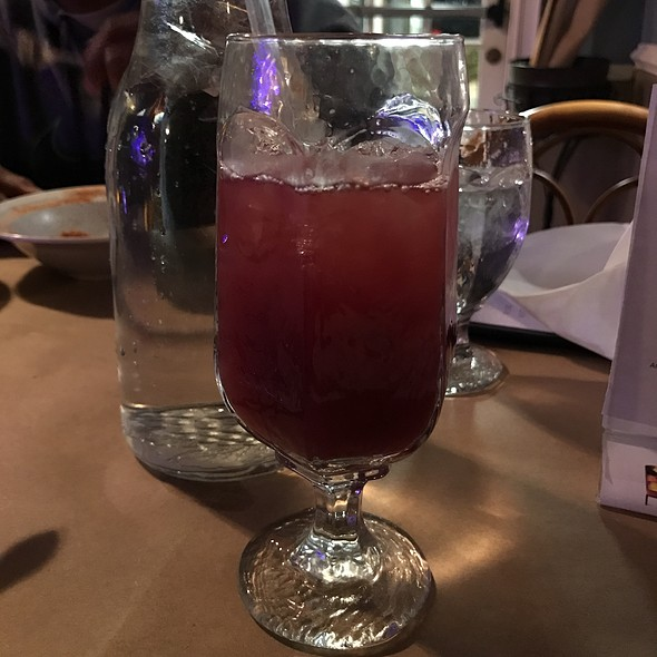Billy Holiday's Blusey Sangria