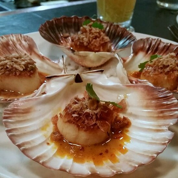 Scallops on the shell @ Social Eating House and Bar