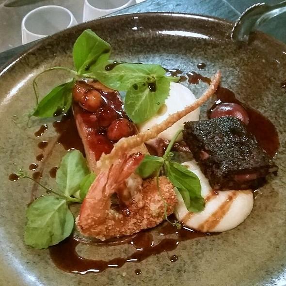 Pork Belly And Crispy Shrimp @ Social Eating House and Bar