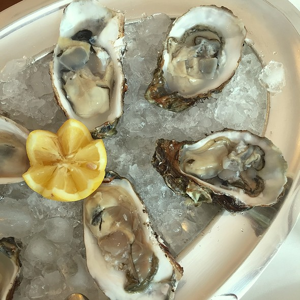 Blue Point Oysters - the perfect starter for a fish dinner