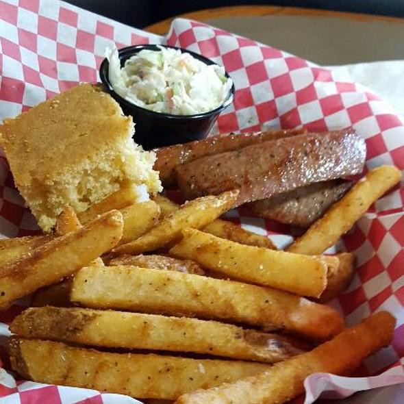 Smoked Sausage Lunch Special @ Slo' Bones BBQ Smokehaus