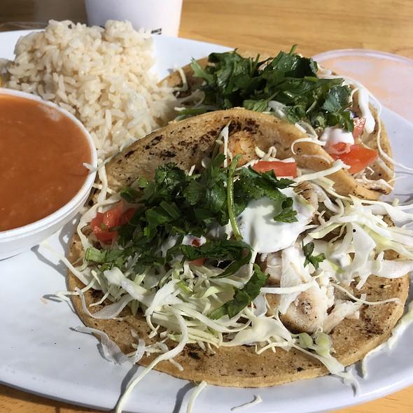 Cajun White Fish Taco Combo