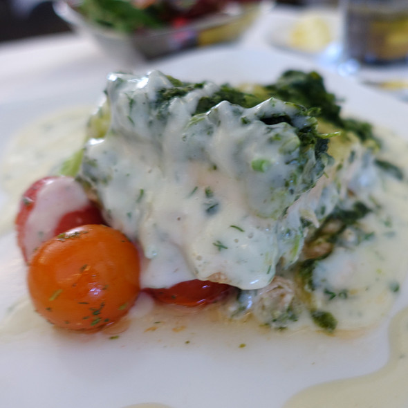 Halibut And Creamed Spinach