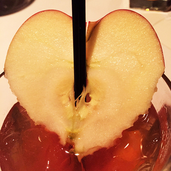 Apple Bourbon Martini